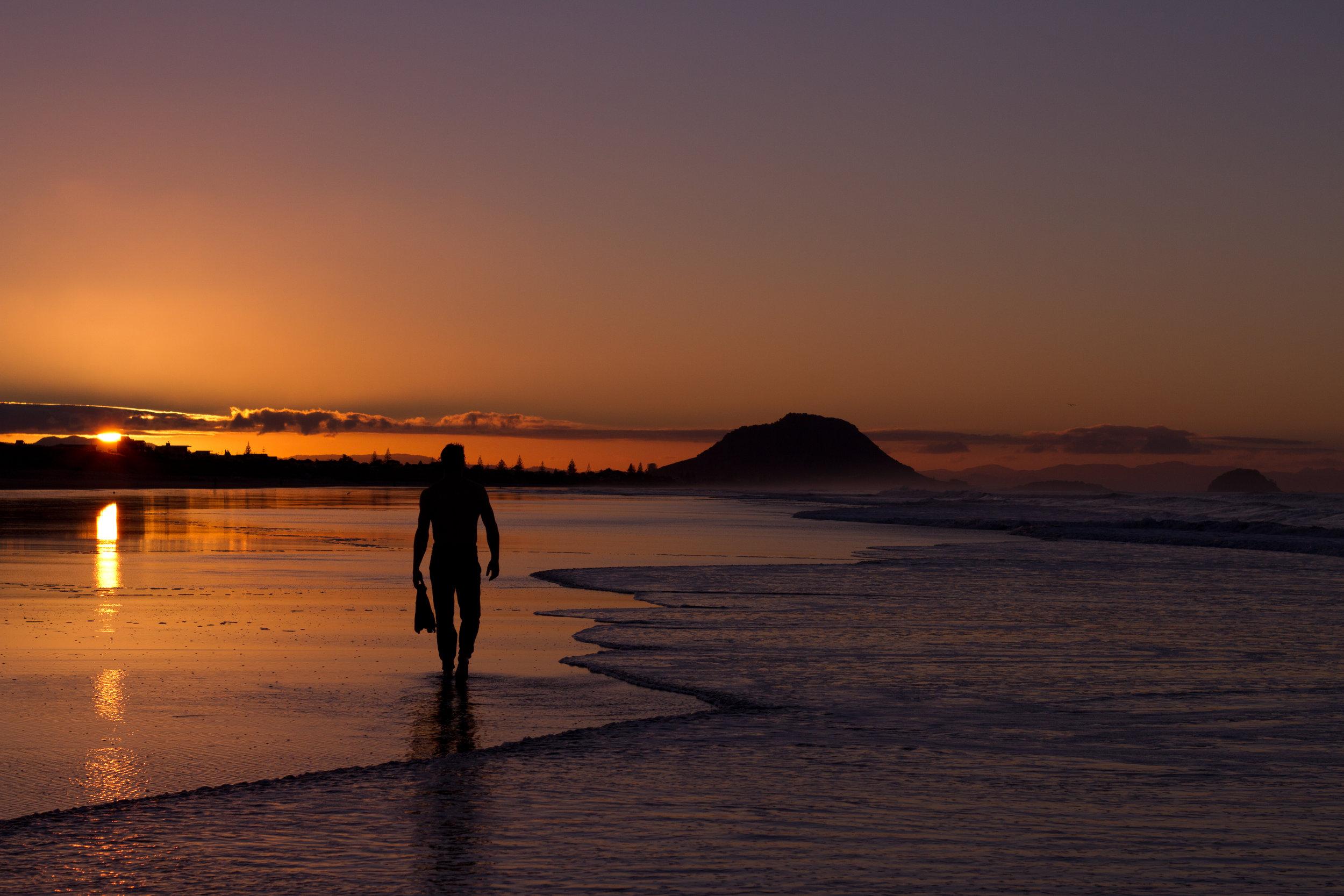 Mt Maunganui Sunset