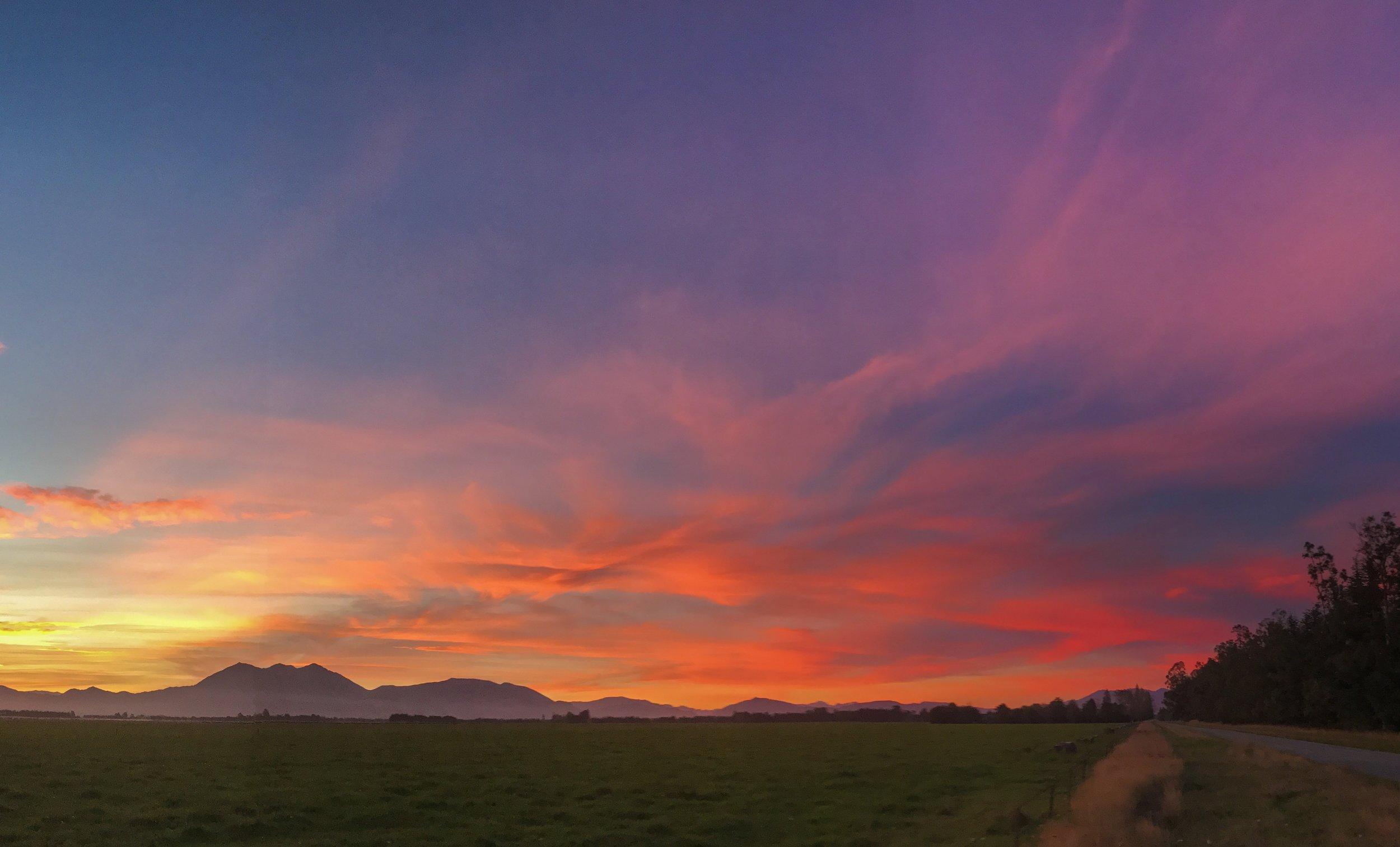 Mt Peel Sunset