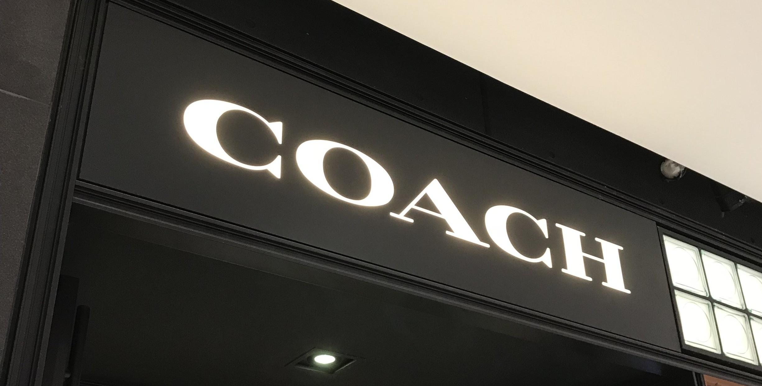 Signage we installed for Coach @ Rideau Shopping Centre Ottawa