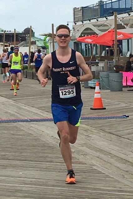 Martin achieved his first BQ at the New Jersey Marathon in 2017, narrowly missing out on a sub-3 marathon.