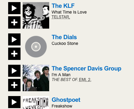 The Dials on BBC6 Music