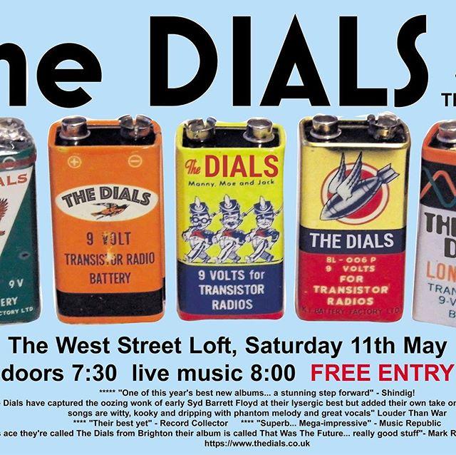 Road testing some new tunes. Sat 11 May #shoreham #weststreetloft