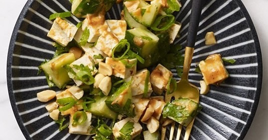 🥜🥜🥜Here is a delicious, healthy recipe to incorporate peanut into your dish today! Click the link below for the recipe & let us know what you did to incorporate peanuts today in the comments below!!💬⬇️ http://www.eatingwell.com/…/tofu-cucumber-salad-with-spicy…/