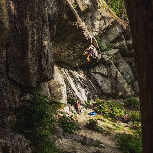 Little climber people.  @jacobcookclimbs @bronwynhodgins . . . . . #squamish #squamishcom #arcteryx #getolympus #squamishisawesome #tradisrad #hellobc #explorebc #beautifulbc #climbingrocks #climbing_pictures_of_instagram #climbinglife #multipitch #liveclimbrepeat  #climbingnation #getoutstayout #travelstoke #exploregram #travelgram #travelbc #travelphotography #beautifuldestinations #borninthemountains