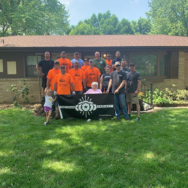 Another successful yard cleanup. This time the tribe came together to help the wife of a Korean War Veteran who just recently passed. A sincere thank you to all those that came and bonded with our veterans as we are #veteranshelpingveterans and we continue #buildingthetribe providing Iowa veterans with a support group and an outlet. Don't forget to watch the you tube video by struggle beyond the decade that released Saturday night that showcases our mission. Here's the link. https://m.youtube.com/watch?feature=youtu.be&v=tJVkzQgn-Uk.  If you're a veteran or have served, ask us how you can get involved with #thetitanproject