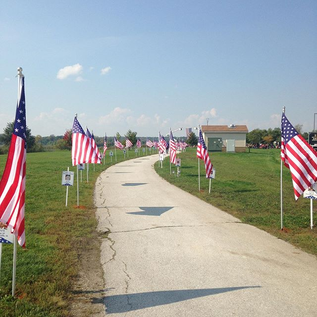 #thetitanproject wishes all you great Americans a safe and happy #independenceday. May we never forget the scarifies paid in lives for our freedom and liberties. #buildingthetribe #americathebeautiful Each flag in these pics represents one of our Iowa fallen comrades. #rememberingthefallen and those who are still in harms way.