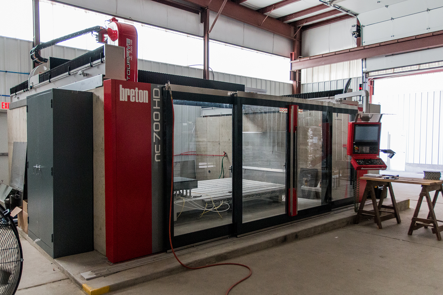Sophisticated Fabrication Facilities - Our state-of-the-art granite factory is equipped with the most advanced technology to provide you with a truly one-of-a-kind monument.