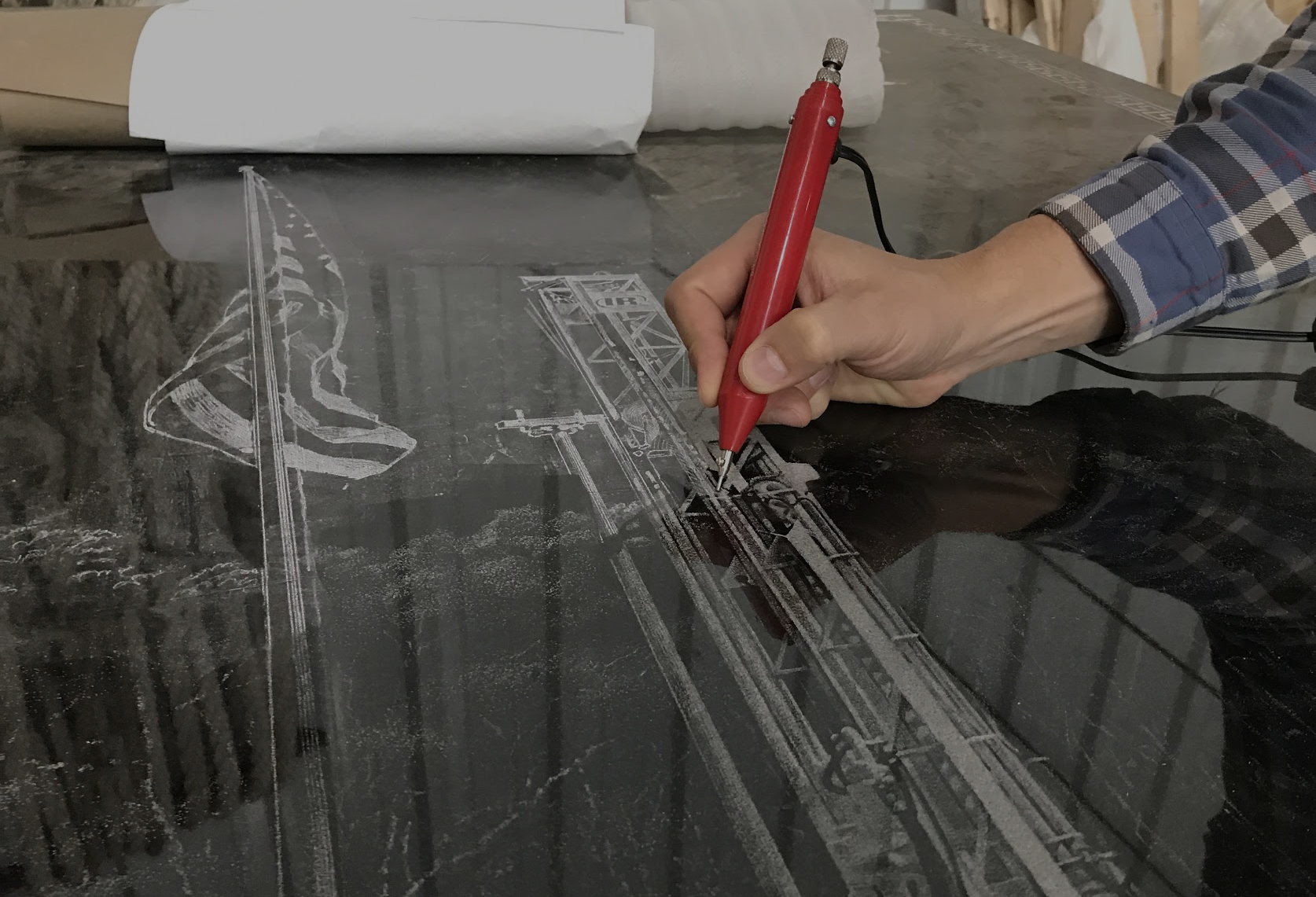Hand Etchings -