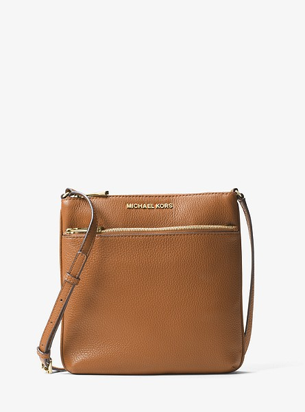 Michael Kors Riley Small Pebbled-Leather Crossbody