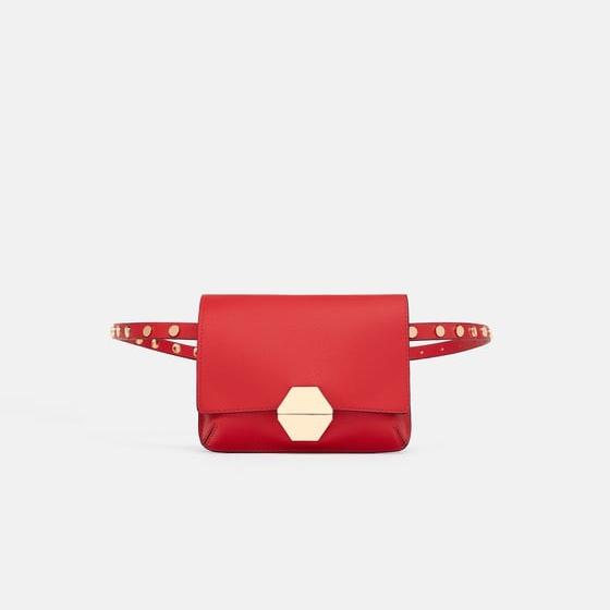 Zara Red Belt Bag.jpg