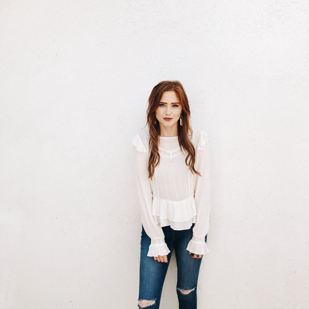Madeline Blouse: Carly Jean