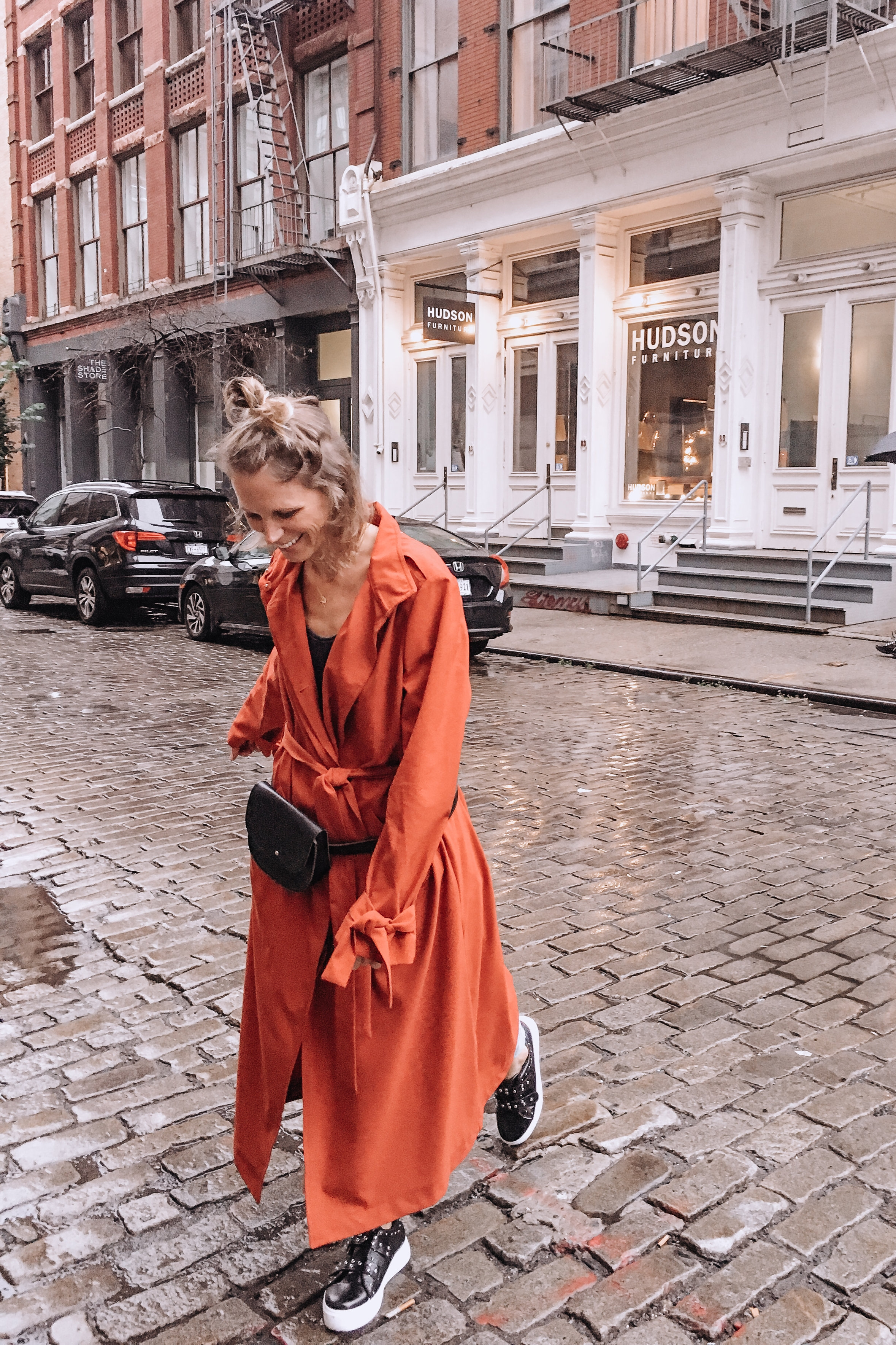 Orange Trench || H&M ||