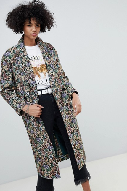 Tapestry Coat || ASOS ||