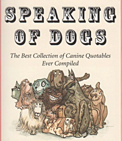 Speaking of dogs, are we too late for #nationaldogday? The latest book fetchingly illustrated by @officialarnoldroth is a compilation of canine quotes that would turn anyone into a dog lover! Book by James Charlton 🐕 #arnoldroth #speakingofdogs #dogquotes #jamescharlton #dogcartoons #dogillustrations