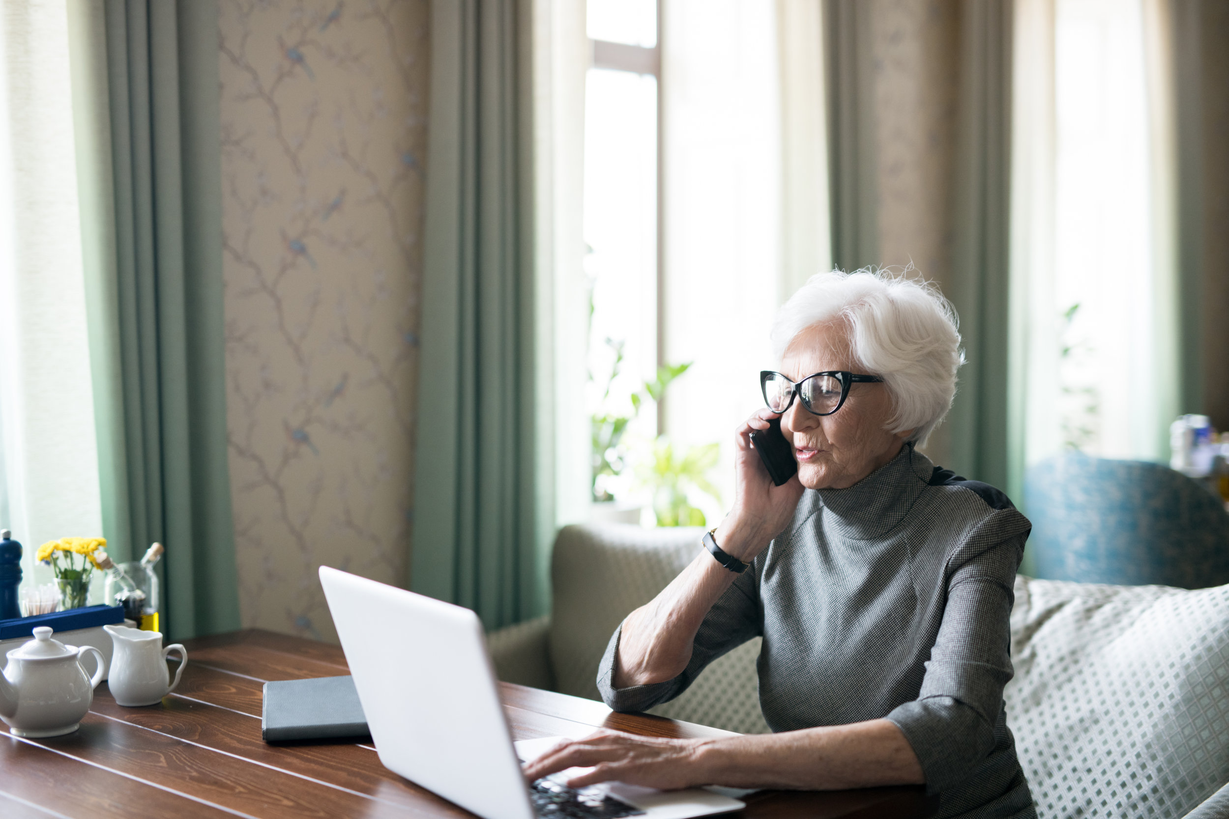 Does fintech address the issues faced by older people?
