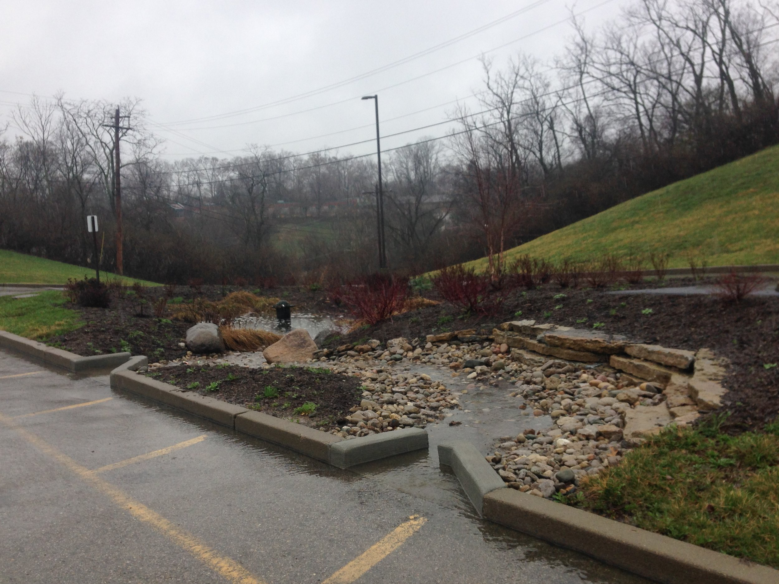 Roberts Academy Stormwater Demonstration -