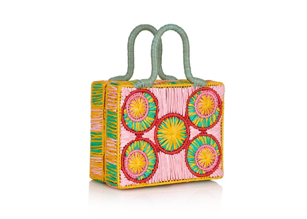 Raffia Baskets available on Net-a-Porter, Matches, Four Seasons Hotels