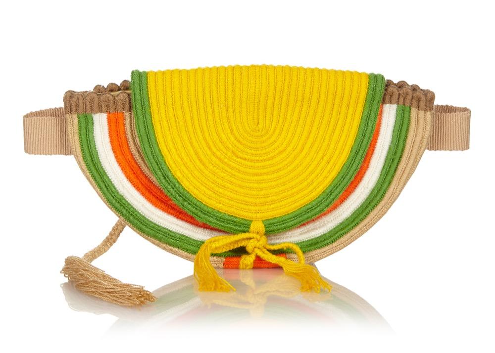 Crochet Belt Bag available on Net-a-Porter, Matches, Four Seasons Hotels