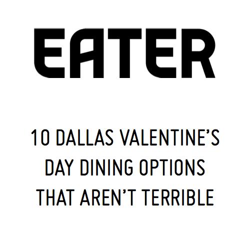 Eater Valentine's