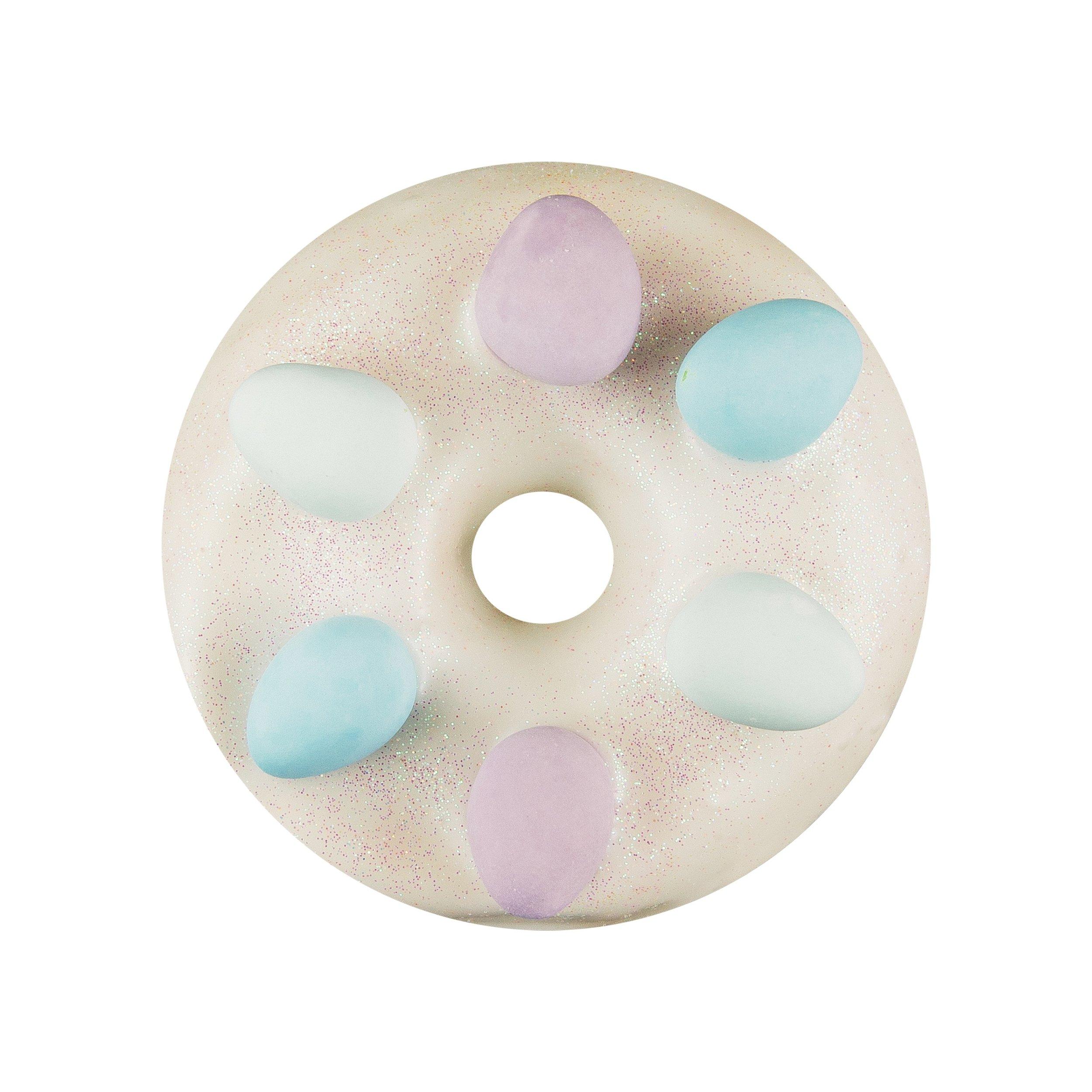 EGG HUNT - WHITE CHOCOLATE GLAZE+ SPRINKLES+ MILK CHOCOLATE EGGS
