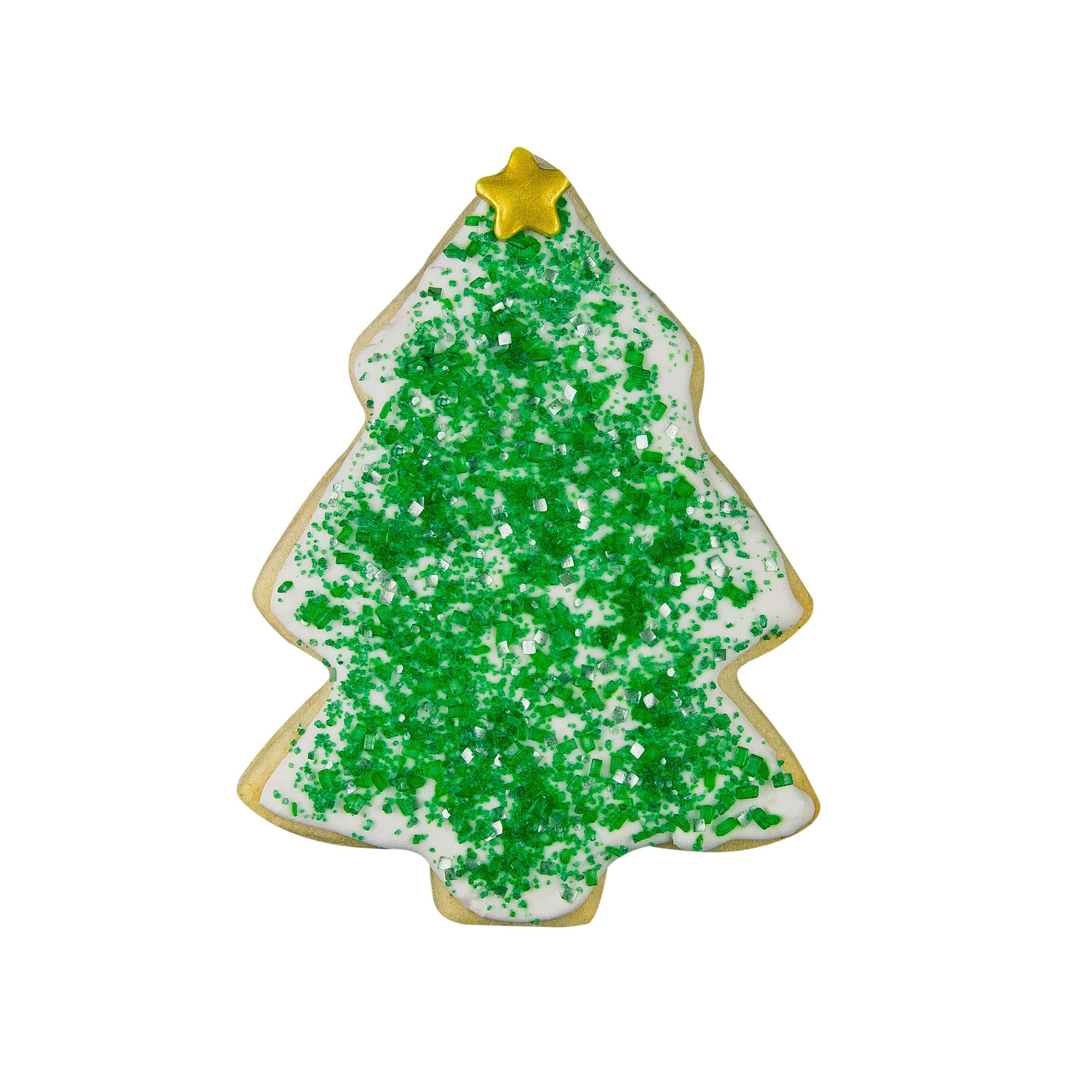 CHRISTMAS TREE SUGAR COOKIE -