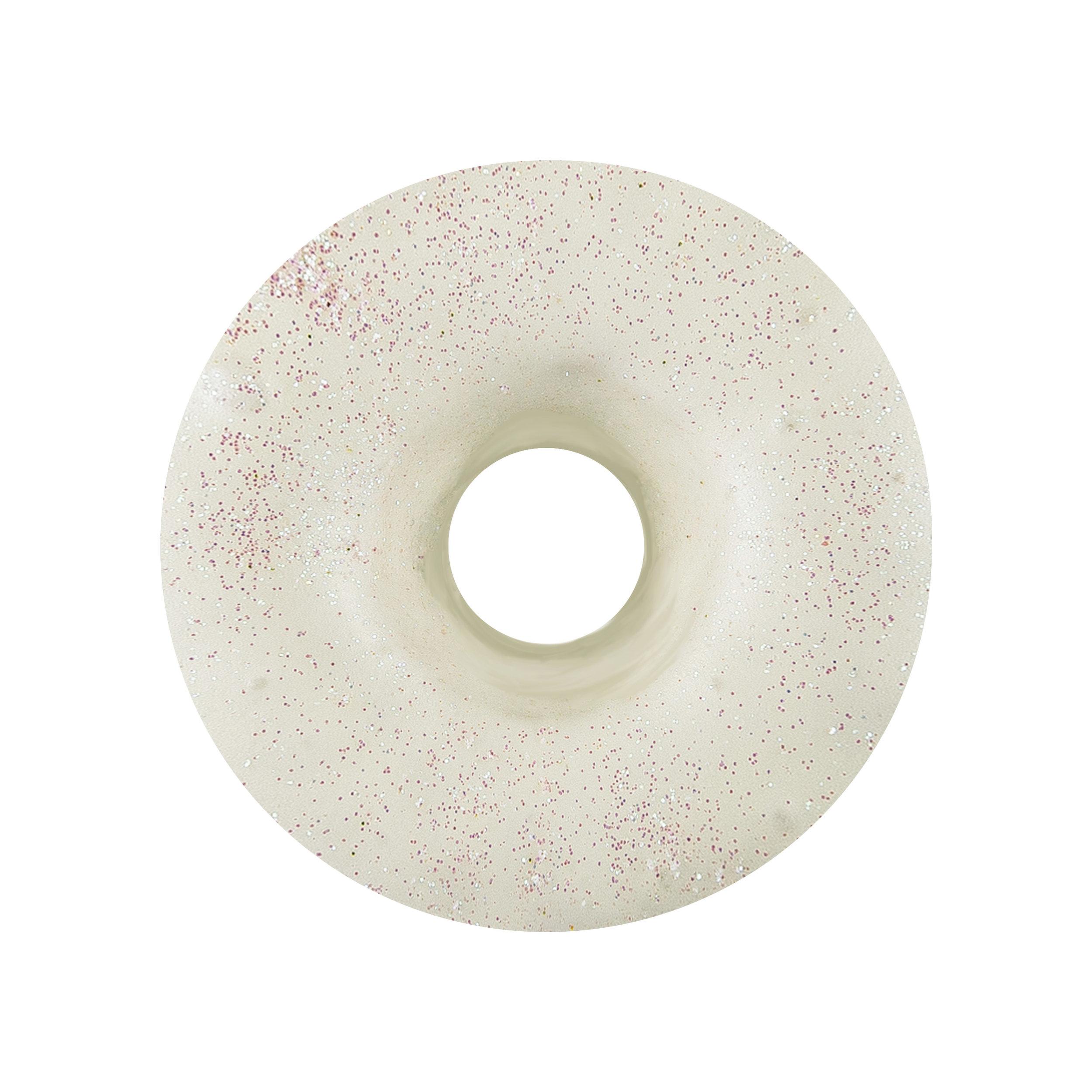 IRIDESCENT - WHITE CHOCOLATE GLAZE + SPRINKLES
