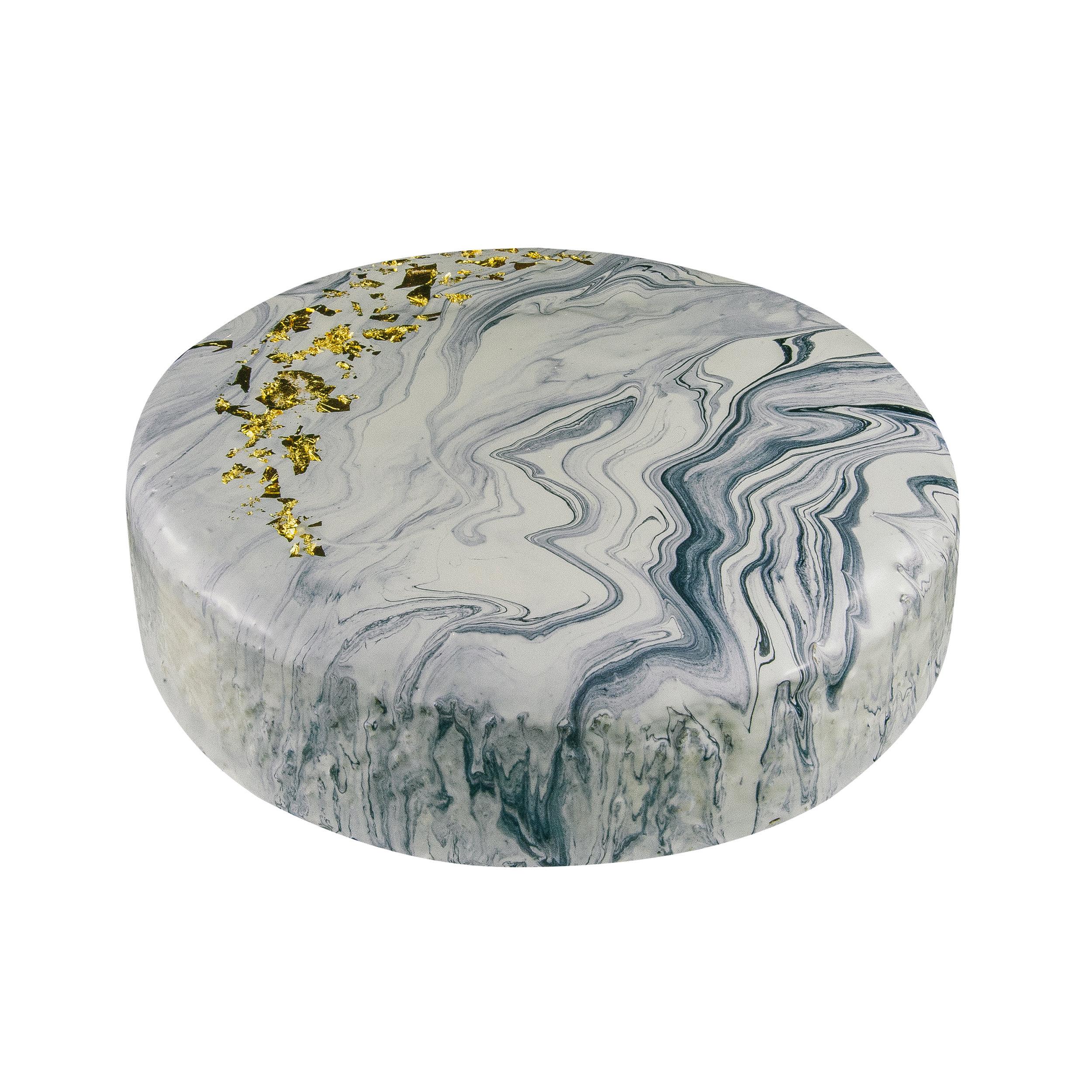 24K MARBLE CHEESECAKE - WHITE INTERIORNY CHEESECAKE FLAVOR