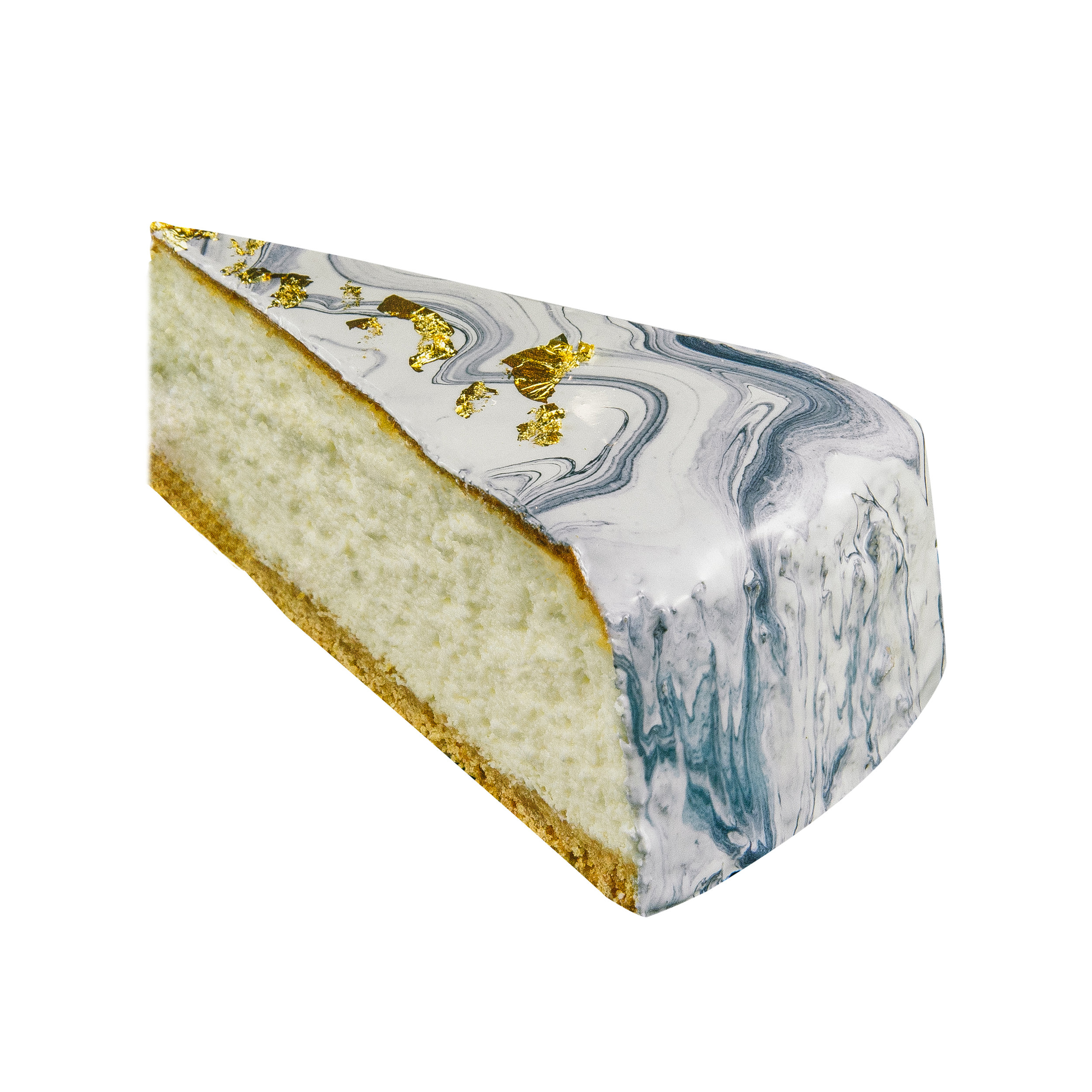 24K MARBLE CHEESECAKE SLICE -