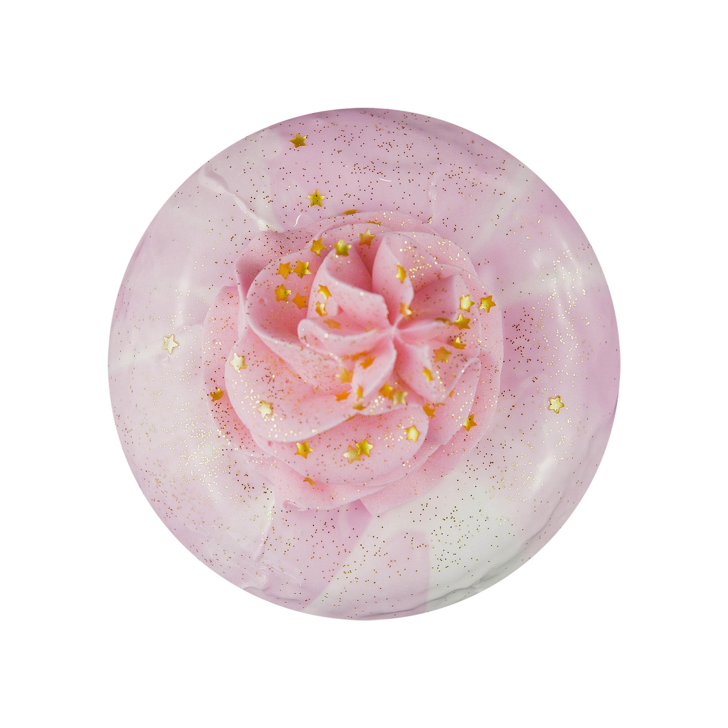 PINK SWIRLIE - VANILLA GALAXY GLAZE+ BUTTERCREAM+ SPRINKLES