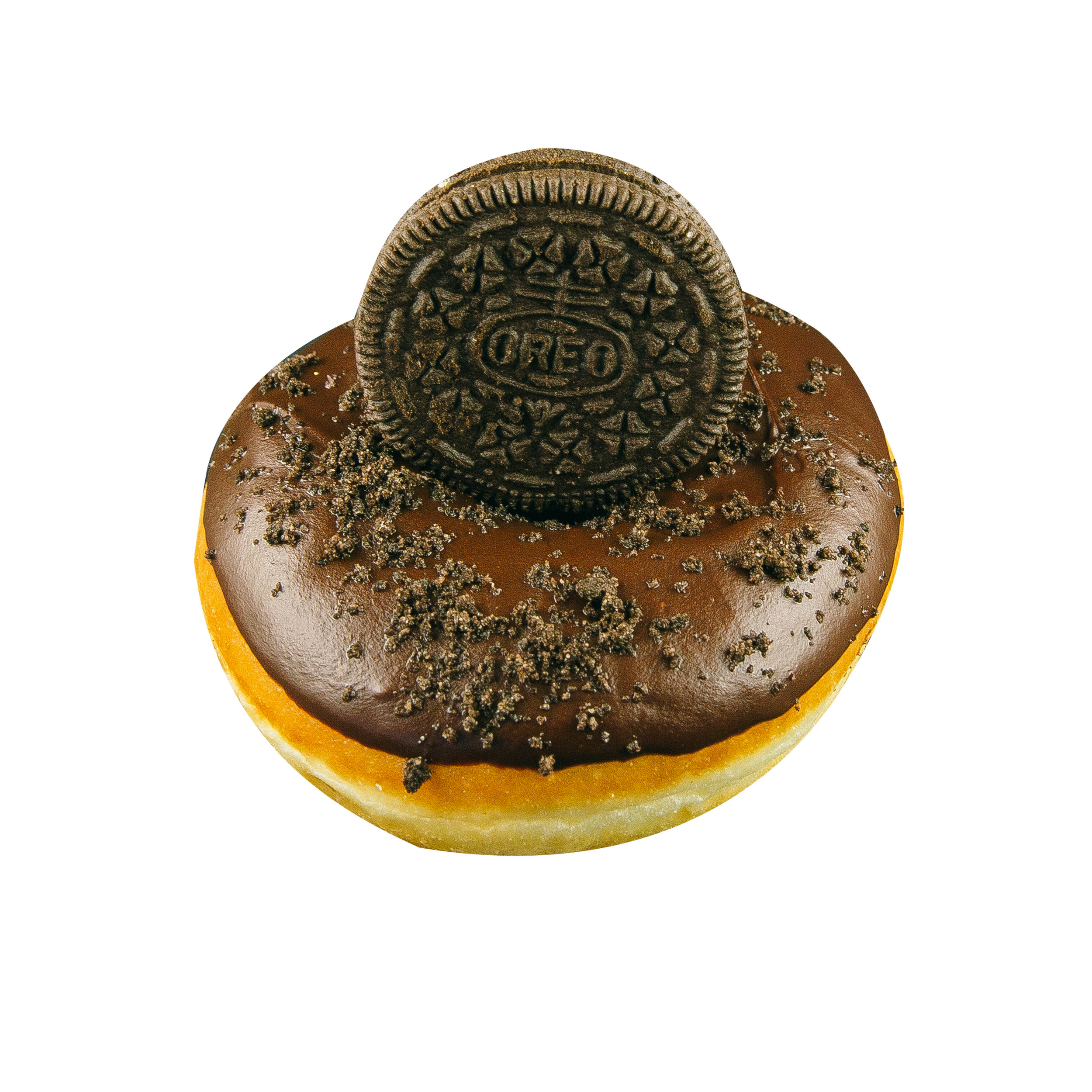 CHOCOLATE OREO - CHOCOLATE GLAZE+ OREO CRUMBS+ OREO