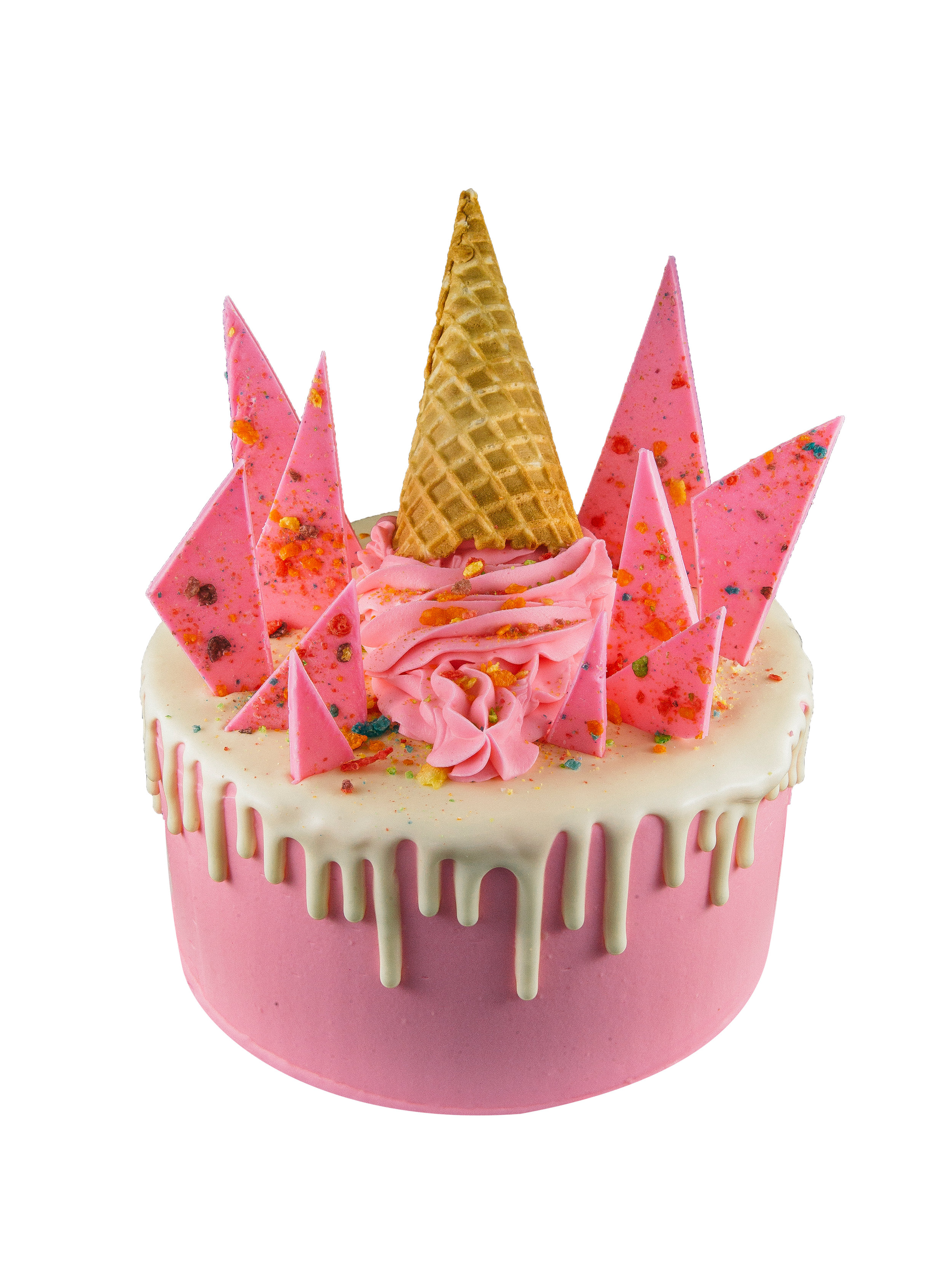 FRUITY PEBBLES CAKE -