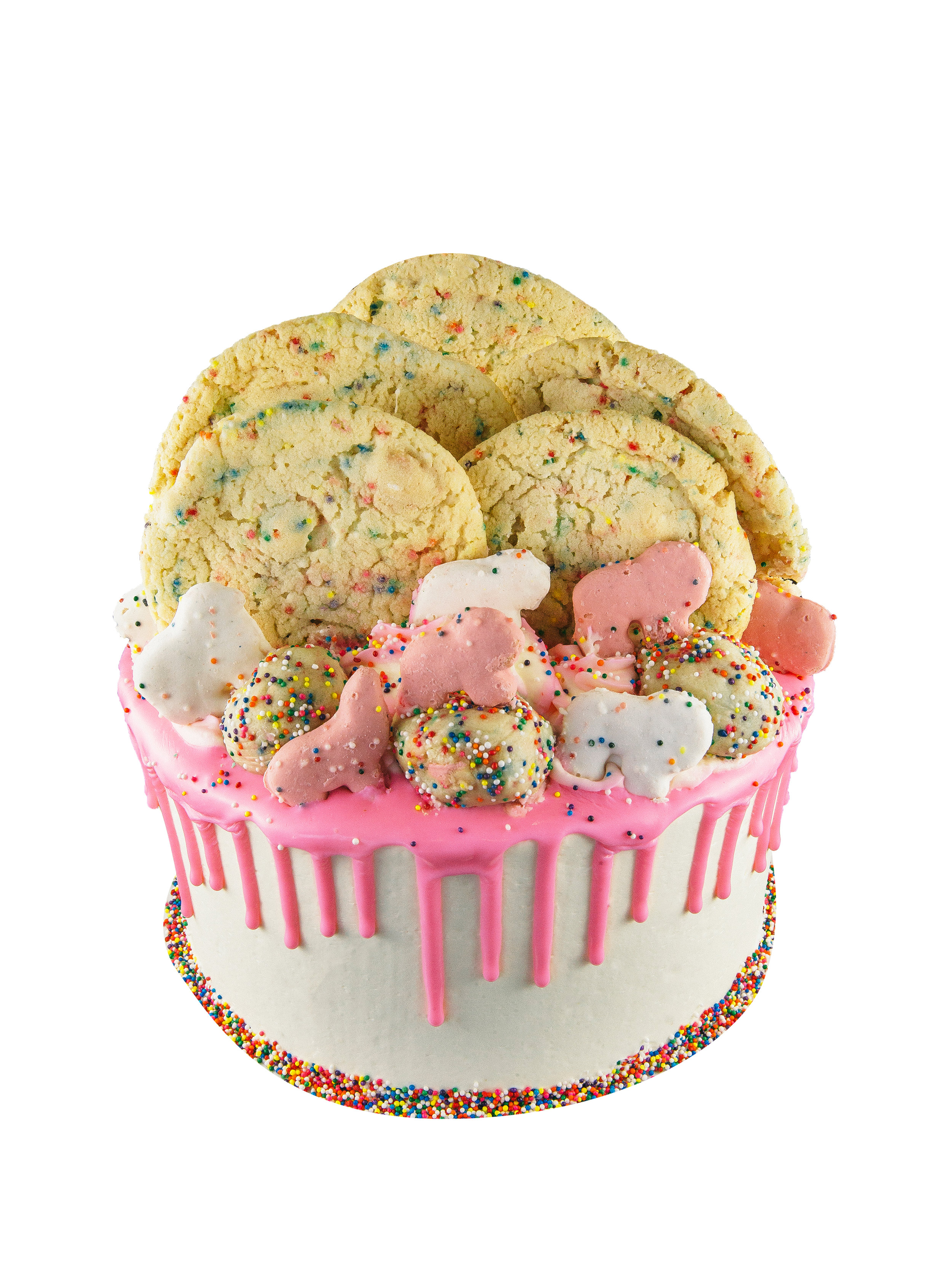 BIRTHDAY CAKE COOKIE DOUGH CAKE -