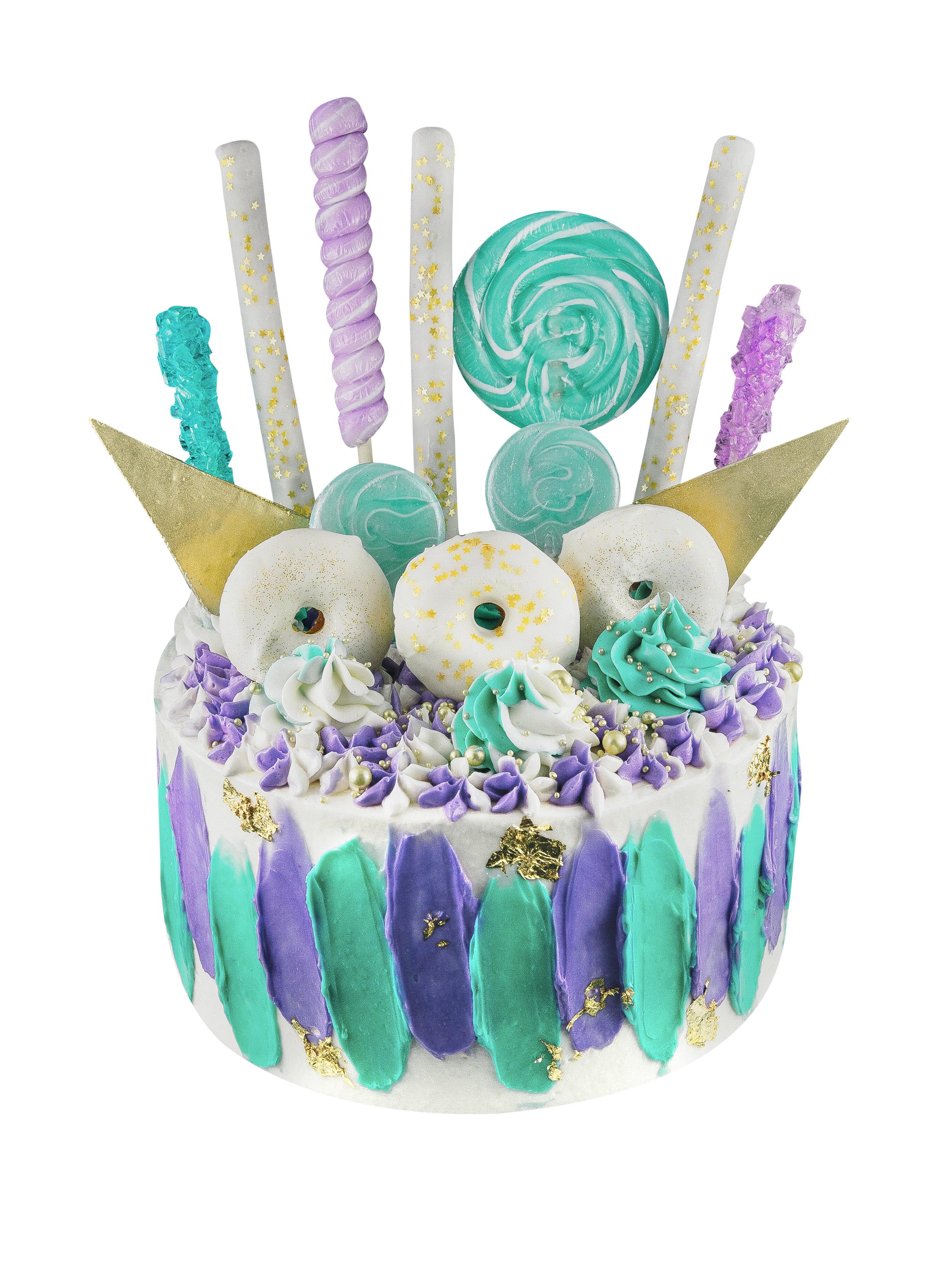 WATERCOLOR CAKE -