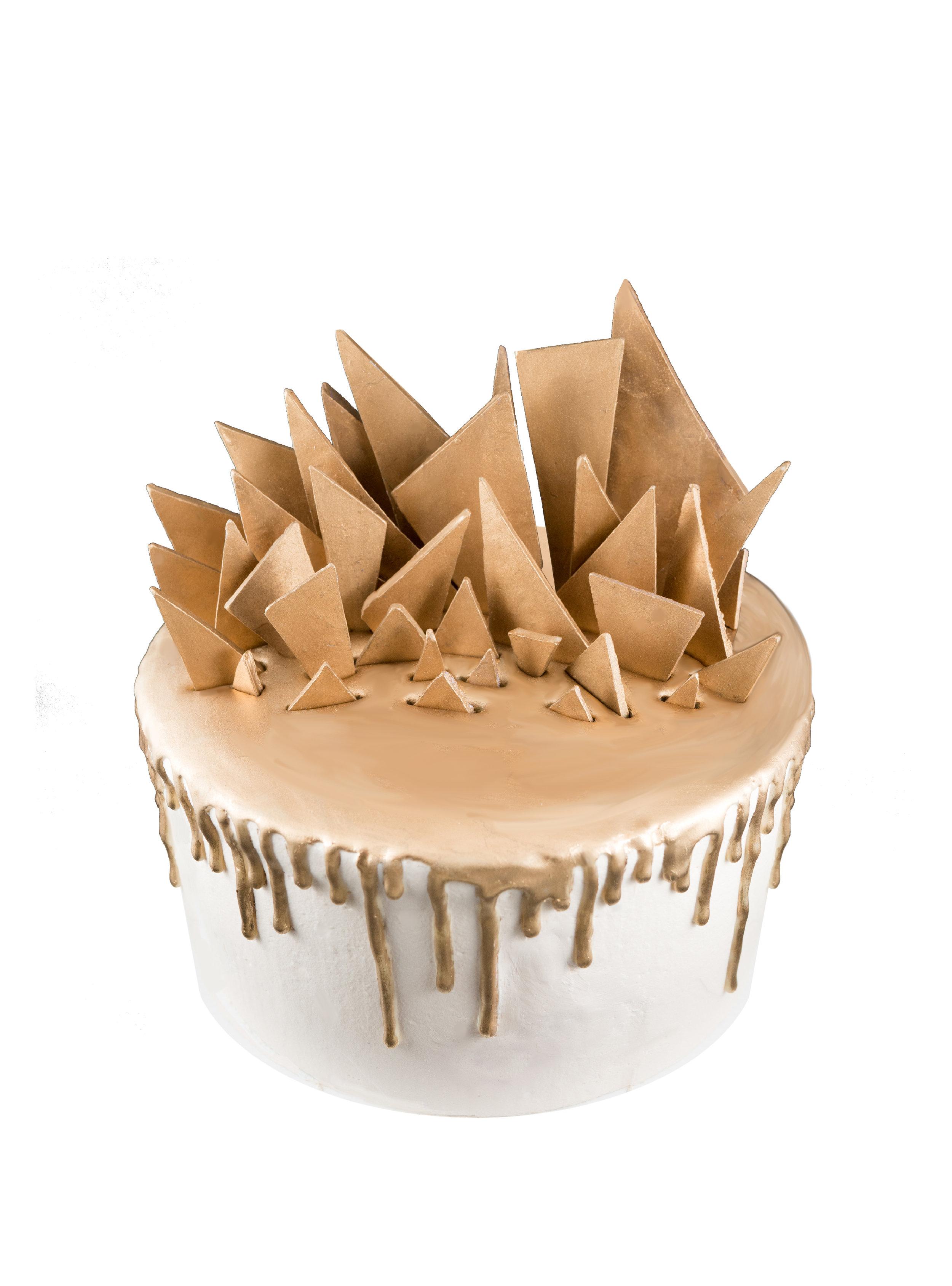GOLD VELVET CAKE -
