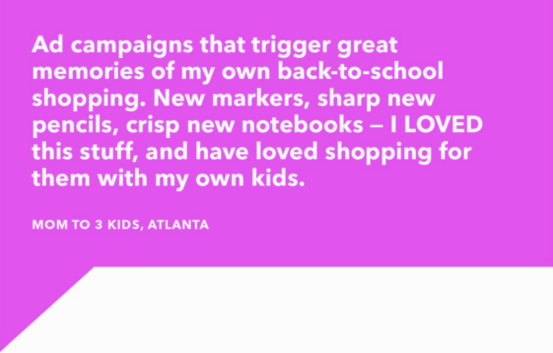 What do you love about back-to-school shopping? What do you hate?