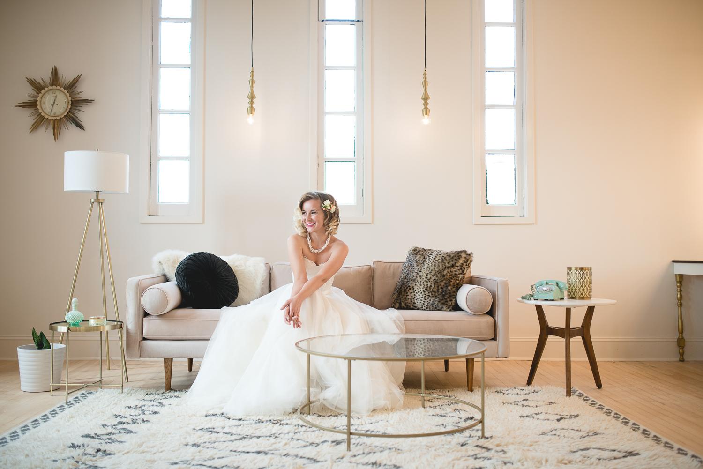 RetroRomance - Photography: Daniel Dinsmore PhotographyDecor: Everly Lace LLCFlowers: Floral StacheDress: Inspire Bridal BoutiqueSuit: Graif Clothing