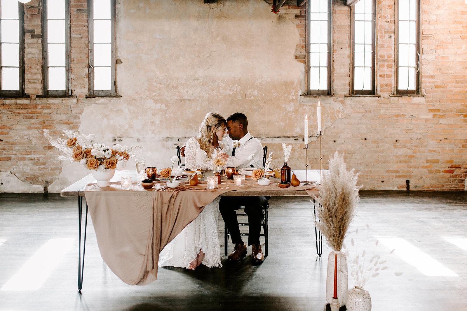 Boho Vibes - Photography: Sarah Joy PhotographyDecor: Vanilla + GoldFlowers: Budding CreationsDress: Inspire Bridal BoutiqueDesserts: Lush Cakes
