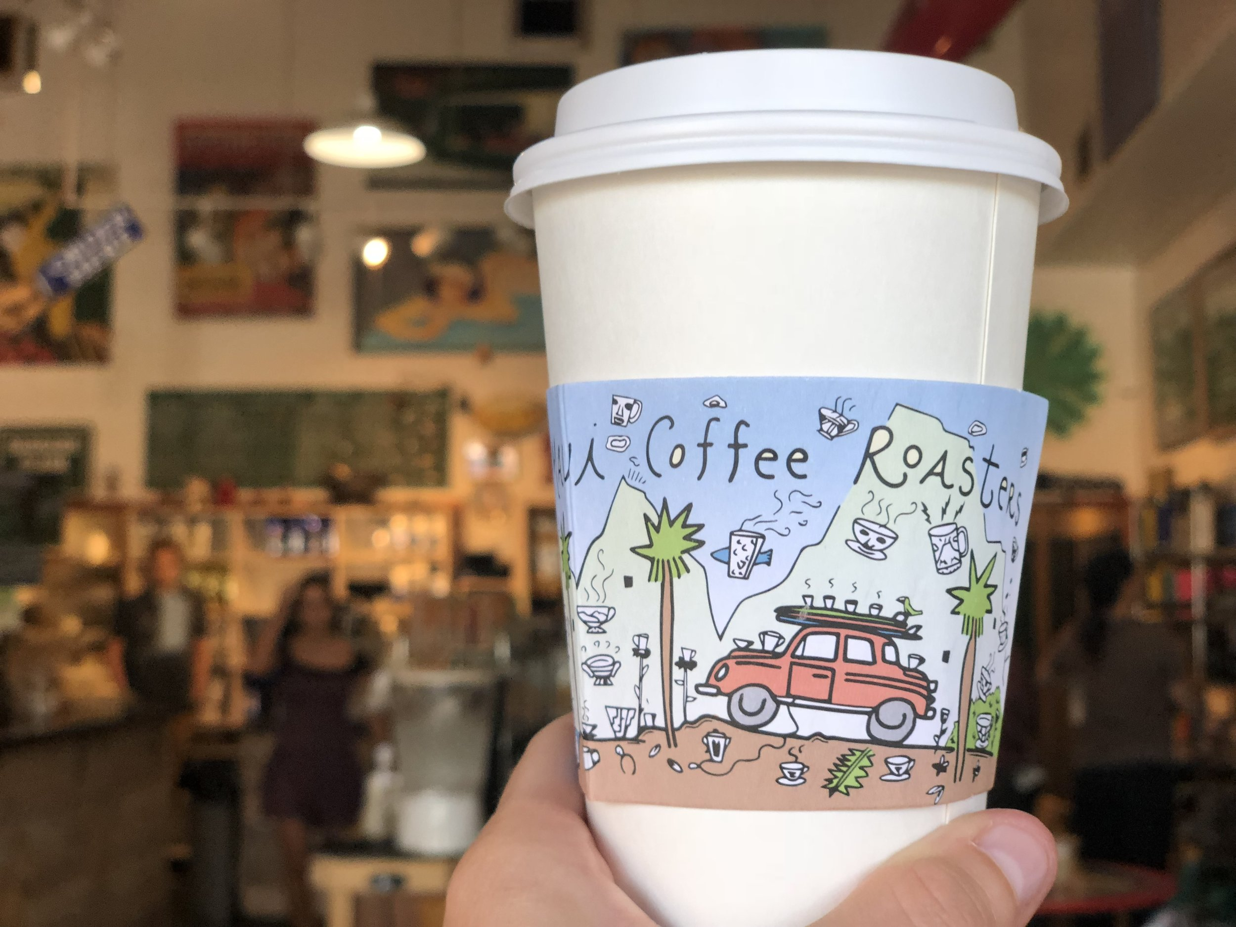 When you're tired from the sun…or wedding planning, stop by Maui Coffee Roasters in Kahului for a pick me up!
