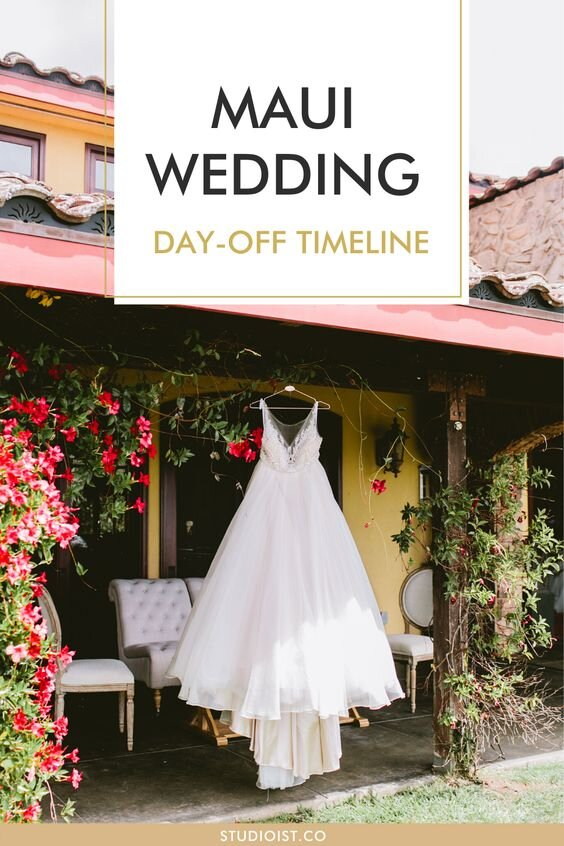 Shabraun Maui Wedding Day Of Timeline Studioist