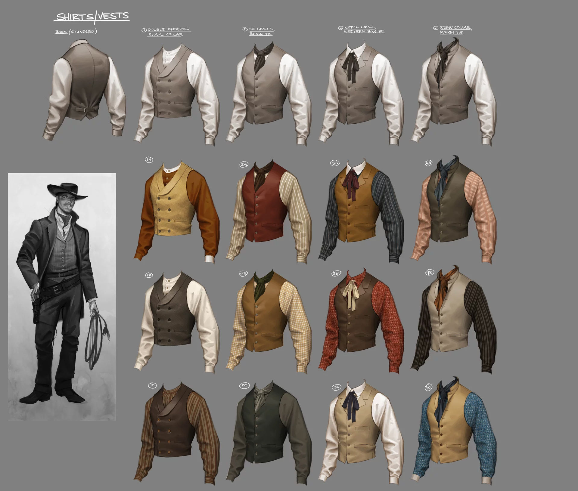 cowboy costume variations