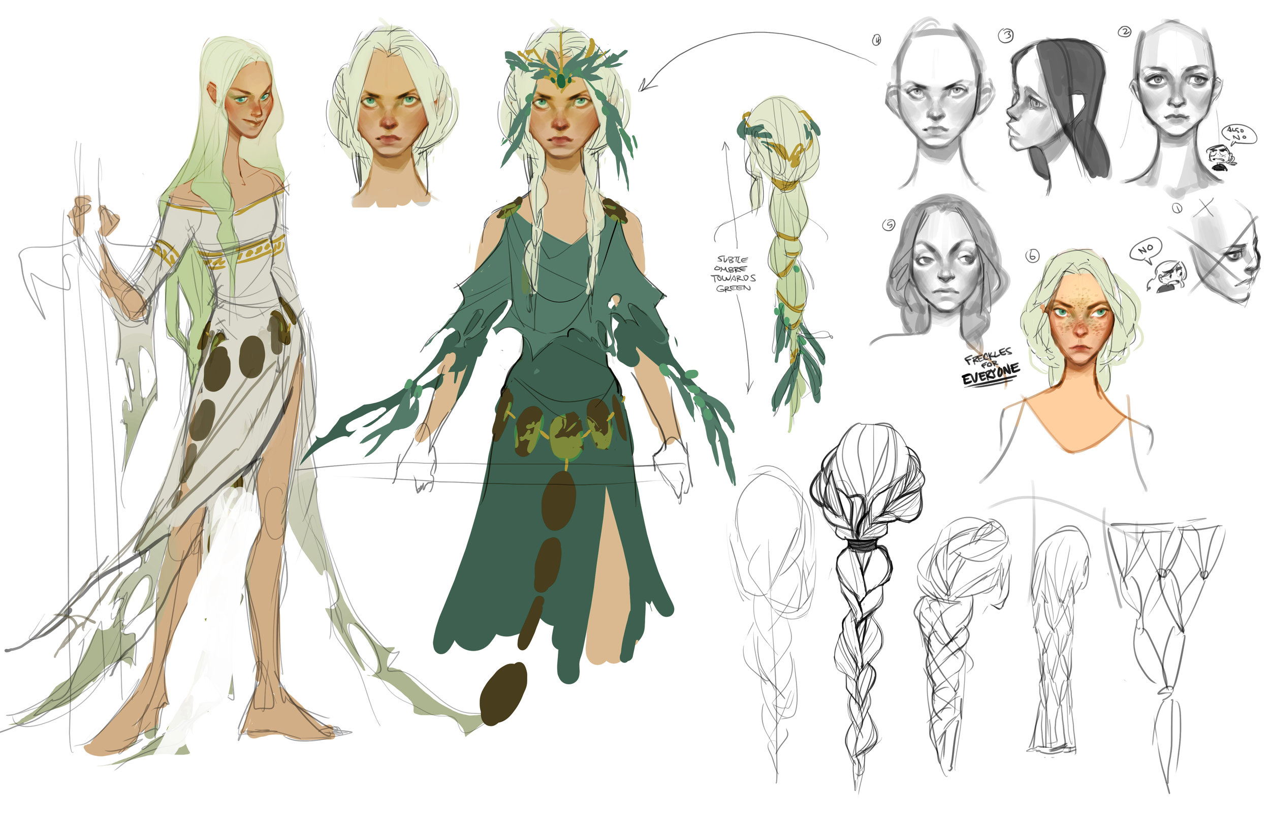 second round of concepts for Evienne