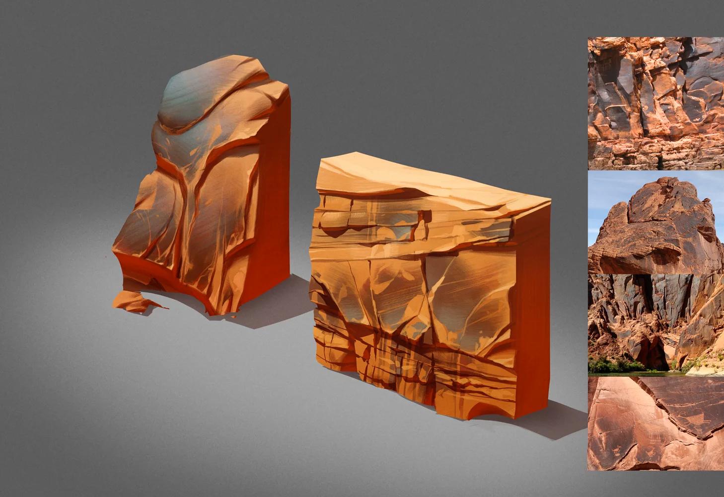 rock material studies