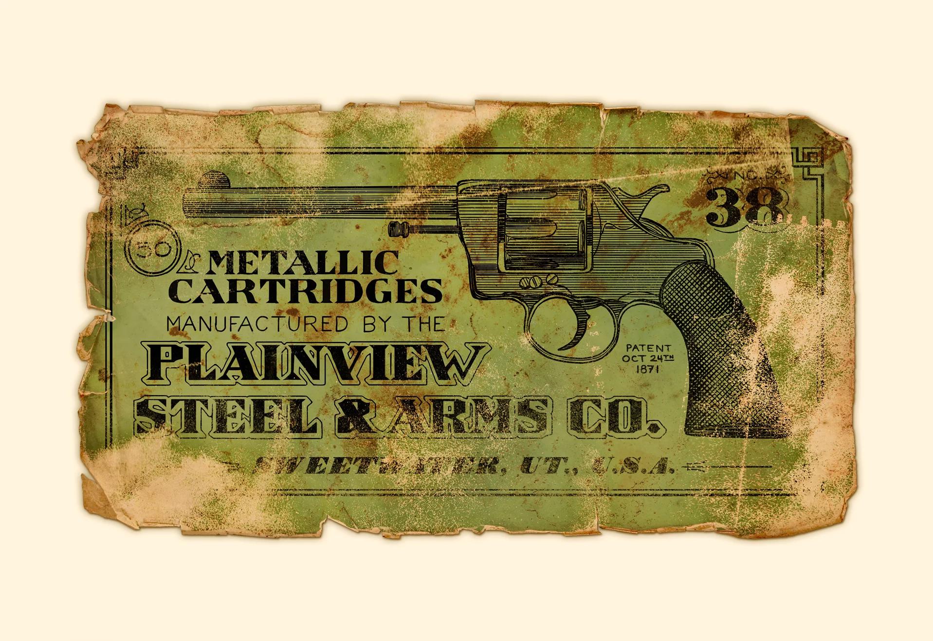 ammo box label