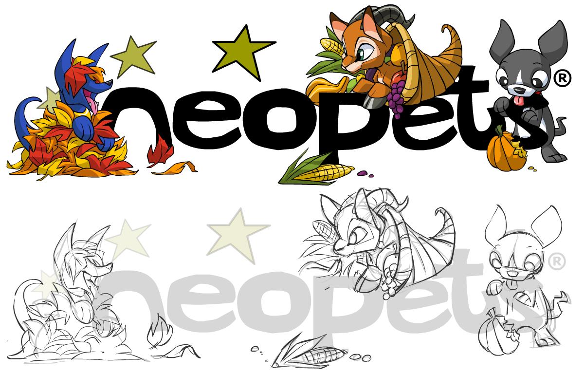 Neopets Magazine Header