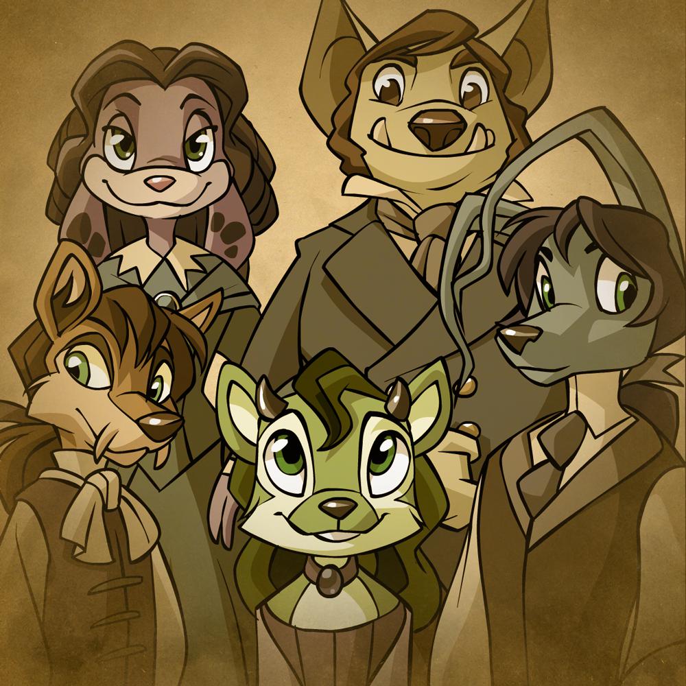 Sophie's Family Portrait