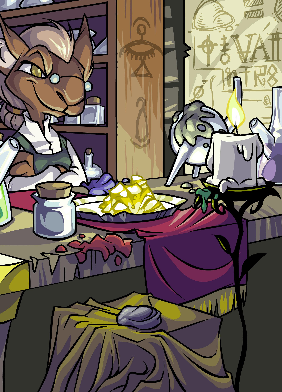 Kyrii Alchemist or something?
