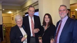 Leslie & Roger Prior (UK), Melissa Goodman & Greg Andrews Schute Bell