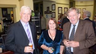 John & Karen Croake and Peter Morgan