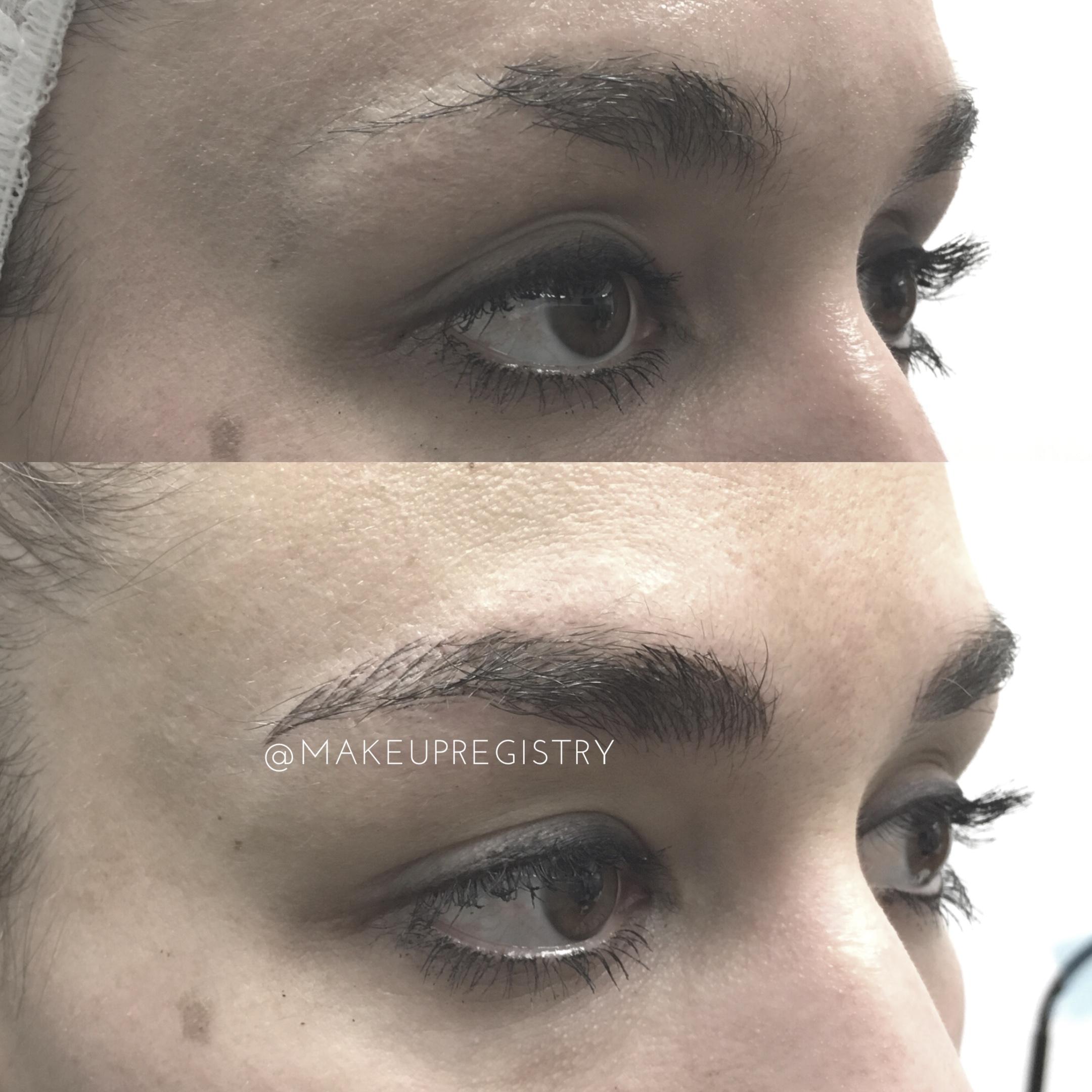 Eyebrow Microblading Results