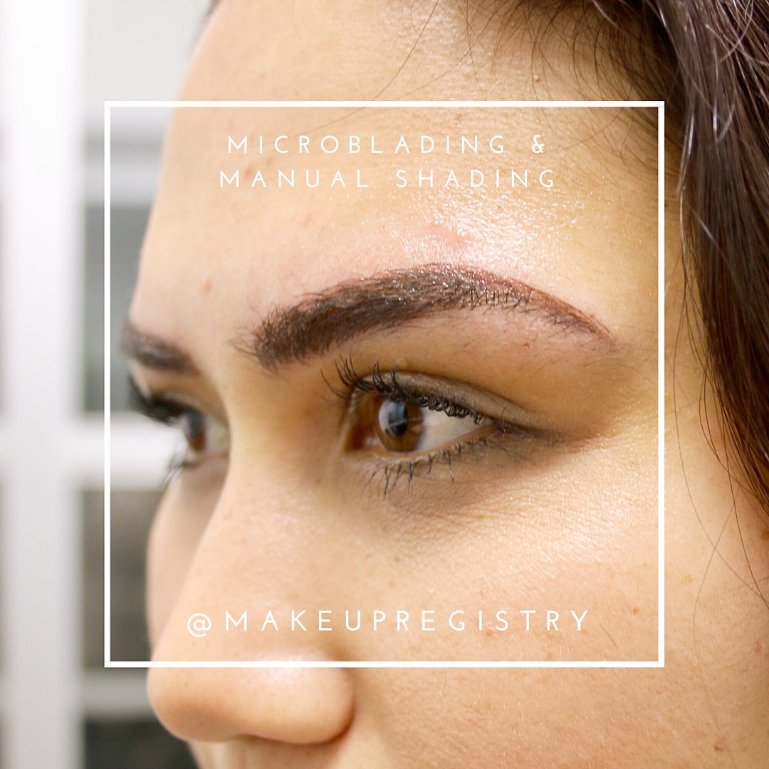Frankee's Eyebrow Microblading Results